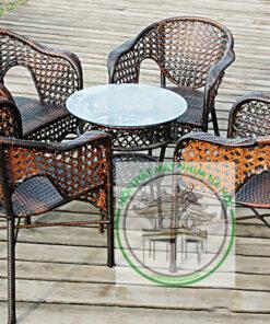 ban ghe cafe may nhua HN 47